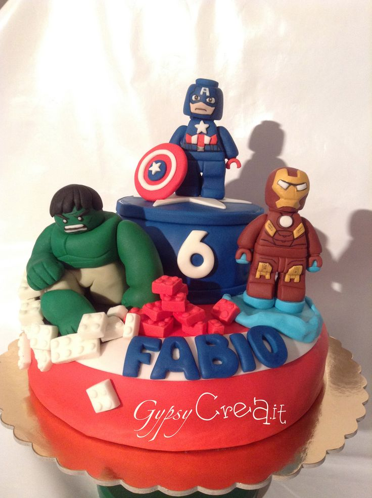 Torta Avengers   Gypsy Crea