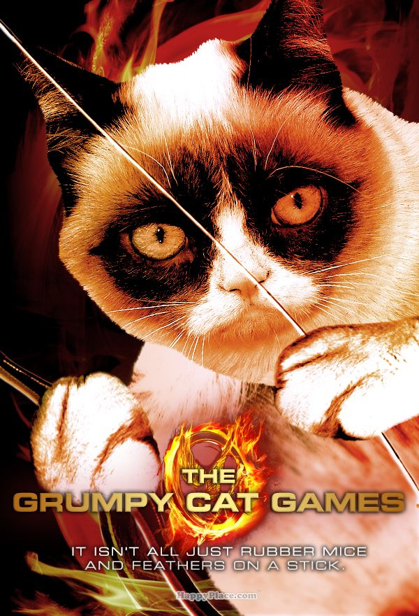 Movies That Would Be Way Better If They Starred Grumpy Cat | Happy Place