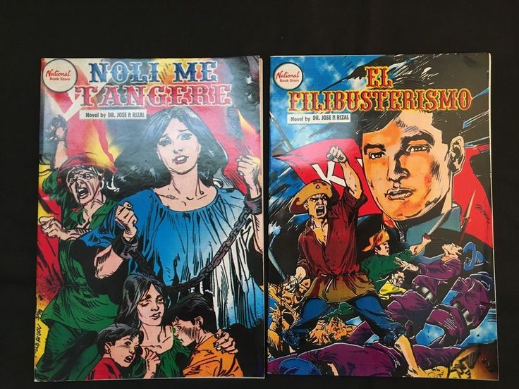 Noli Me Tangere / El Filibusterismo – English Comic Books from Philippines in Books, Magazines, Comic Books | eBay!