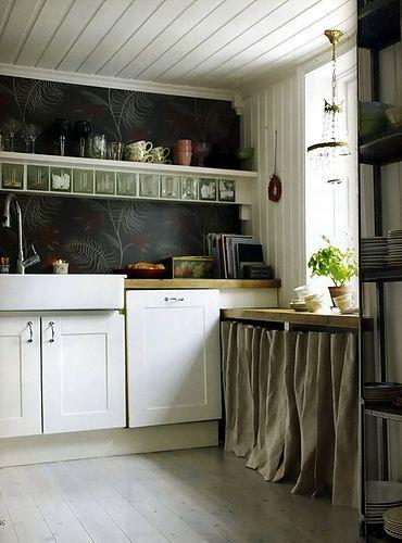 34 best images about STYLOWE KUCHNIE on Pinterest  Design   -> Tapeta Samoprzylepna Kuchnia