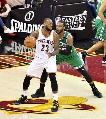 Lebron James and Jae Crowder - Boston Celtics