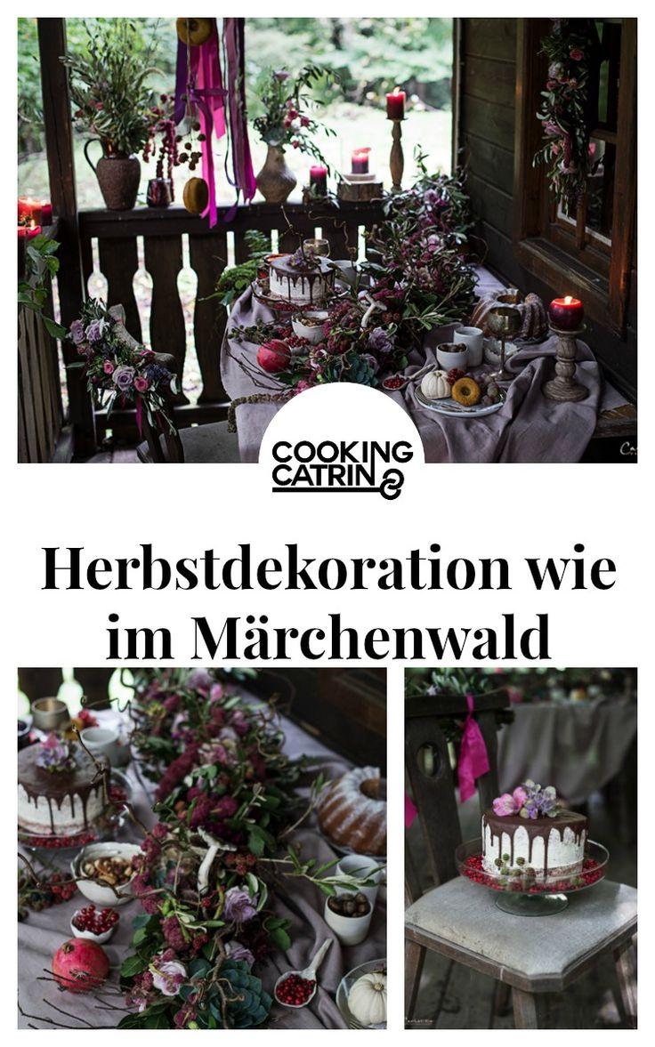 Herbst, Herbstdekoration, violett, pruple decoration, cake, drip cake, floral decoration, fall decoration, pumkin donuts, Herbstfrüchte