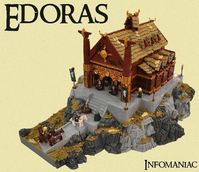 Edoras by infomaniac my goodness look at the terrain here genius