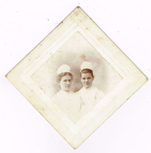 Two-Young-Maids-or-Nurses-in-Manchester-New-Hampshire-by-W-R-Call-1890s