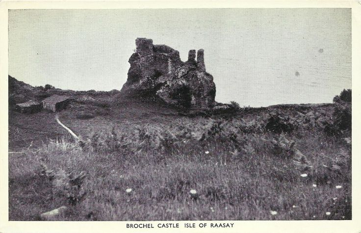 "Raasay Brochel Castle - Isle of Raasay. Raasay Traditionally the home of Clan MacSween, the island was ruled by the MacLeods from the 15th to the 19th century. Raasay means ""Isle of the Roe Deer"" and is home to an endemic subspecies of Bank Vole."