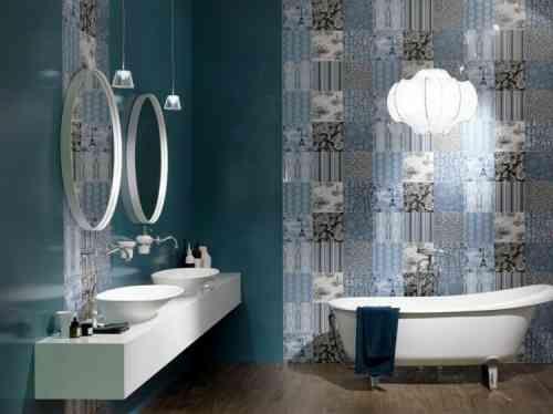 déco de salle de bain avec carrelage par CERAMICA SANT'AGOSTINO