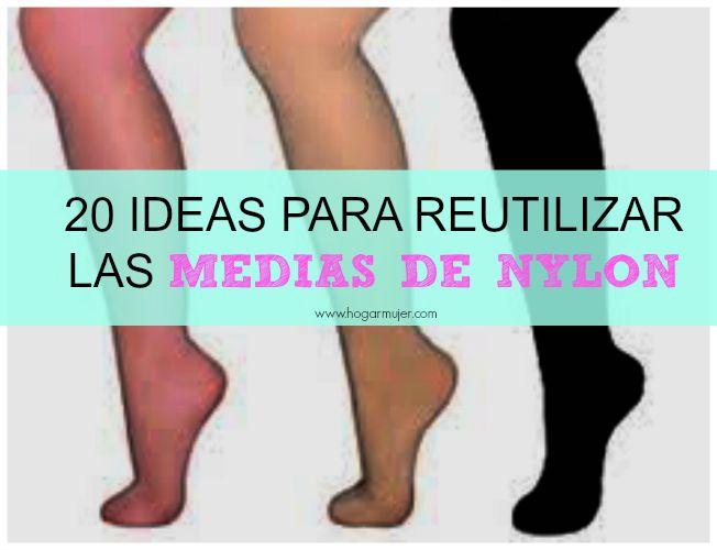 Ideas para reutilizar las medias de nylon