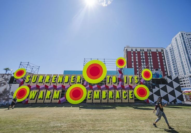 Las Vegas Street Art at Life is Beautiful Festival