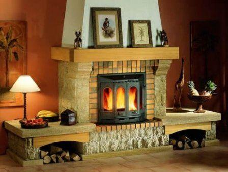Отличие современного камина от классического  #камин #дизайн_интерьера