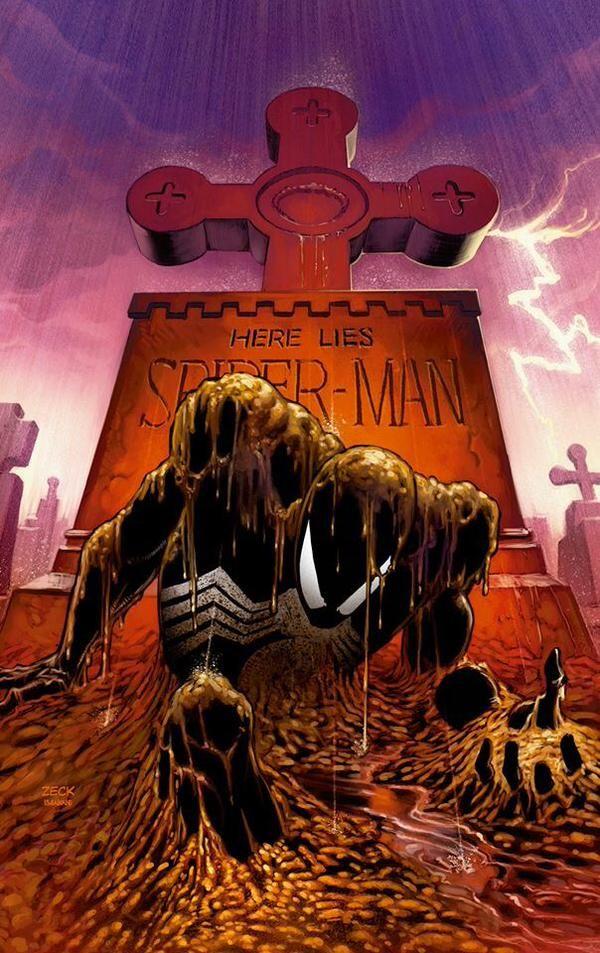 """Spider-Man """"Kraven's Last Hunt"""" by Mike Zeck"""