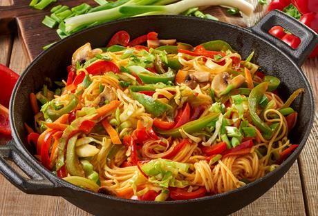 Einfach Lecker » Asia Wok Curry Gemüse » Finden Sie leckere Rezeptideen für jeden Tag, die Ihnen das tägliche Kochen leichter machen. » Einfach Lecker