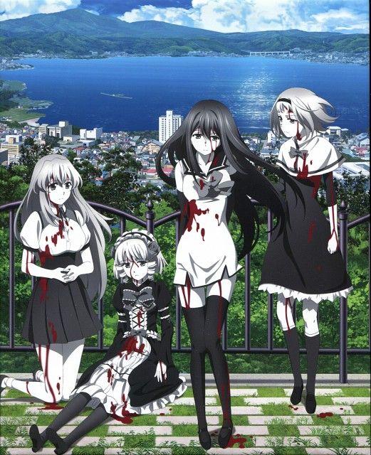 Studio ARMS, Gokukoku no Brynhildr, Neko Kuroha, Kana Tachibana, Kotori Takatori