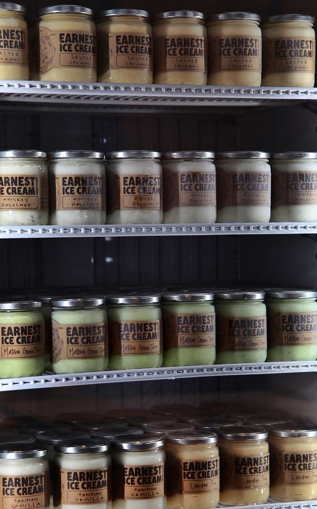 Stocked up and ready to go | Earnest Ice Cream