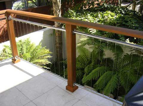 vertical wire railing – Google Search