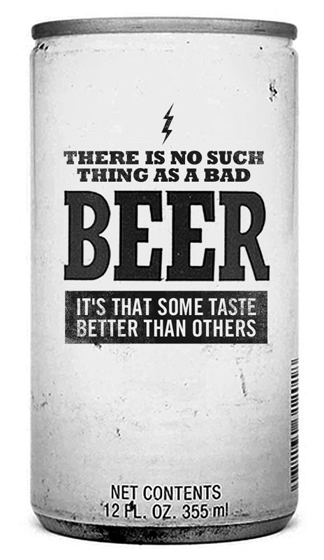 No such thing as bad beer... Some taste better than others. #craftbeer