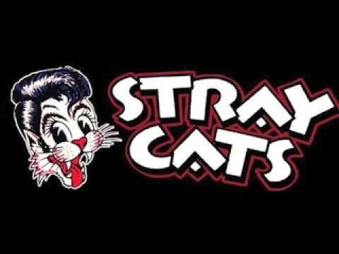 Resultado de imagen de stray cats logo