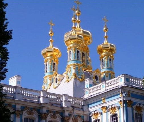 Russia - Cathrine the Great palace in St Petersburg