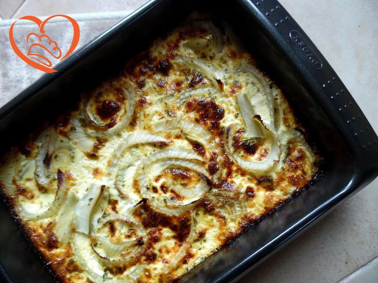 Frittata di finocchi al forno http://www.cuocaperpassione.it/ricetta/5f341f4c-9f72-6375-b10c-ff0000780917/Frittata_di_finocchi_al_forno
