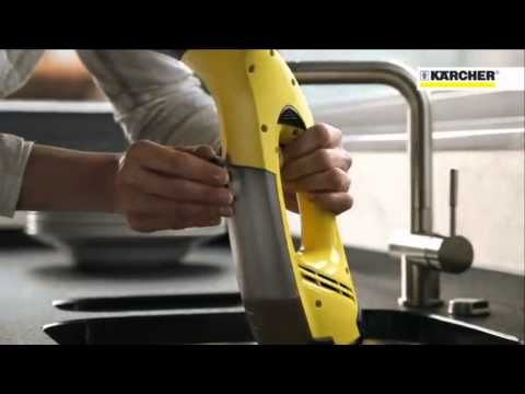 Karcher WV50 Window Cleaning Vacuum - YouTube