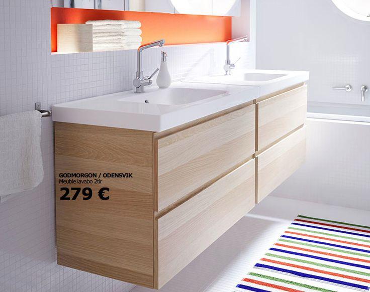 25 best ideas about salle de bain ikea on pinterest salle de bains flottantes ikea toilettes. Black Bedroom Furniture Sets. Home Design Ideas