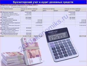 бухгалтерский учет денежных средств