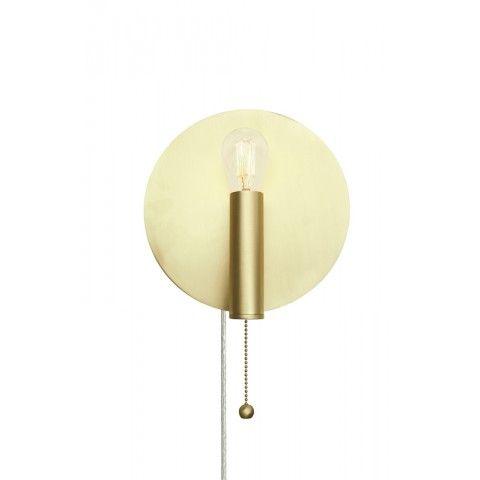 Globen Lighting Art Deco Vägglampa Mässing - lavanille.com