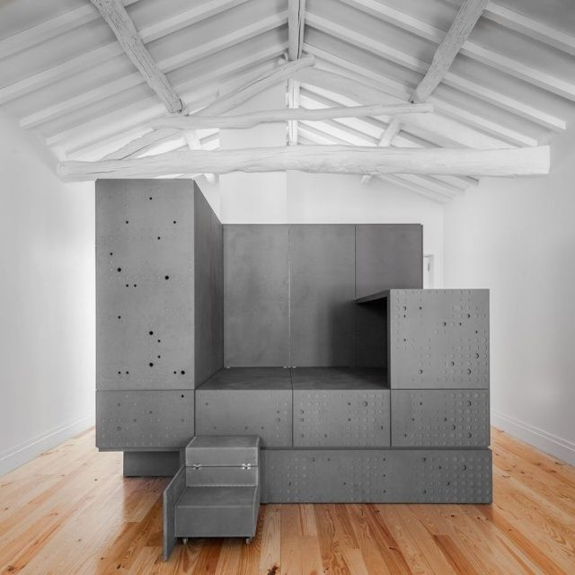 innovative-multifunktionelle-module-zum-wohnen-möbel-klappbar, Innenarchitektur ideen