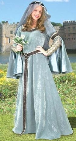 Maid Marian Gown: Renaissance Costumes, Medieval Clothing, Madrigal Costume: The Tudor Shoppe