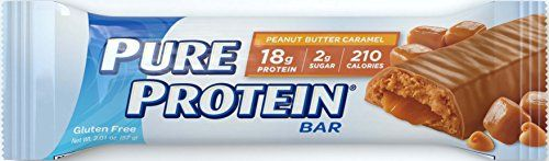 Pure Protein High Protein Bars feature the winning combination of high quality protein and great taste. This delicious Peanut Butter Caramel bar is loaded with 18 grams of protein to help fuel your b...