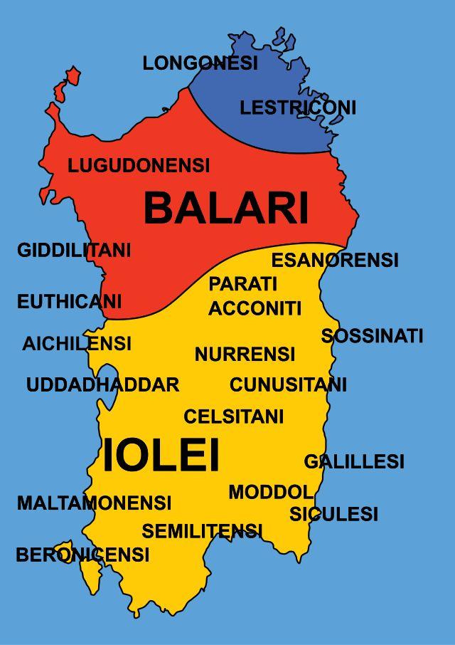 Sardinia - Nuragic tribes.