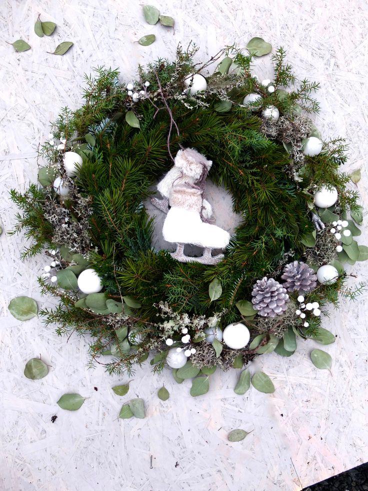 Julekrans til en isprinsesse