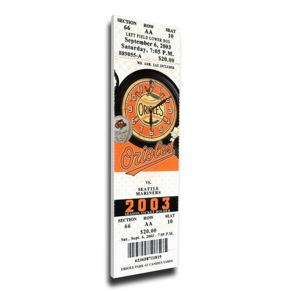 Baltimore Orioles MLB Hall Of Fame Mega Ticket, $79.99
