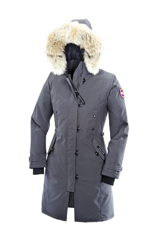 Canada Goose Women Gray Kensington Parka $349.88 http://www.downjacketcheapsale.com/canada-goose-women-canada-goose-kensington-parka-c-182_210