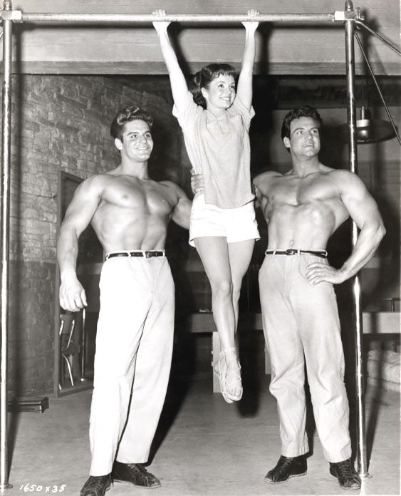 If Athena is remembered at all today, it's for the campy presence of such bodybuilding talent as then-Mr. Universe, future Hercules Steve Reeves and Mae West plaything Dick DuBois.