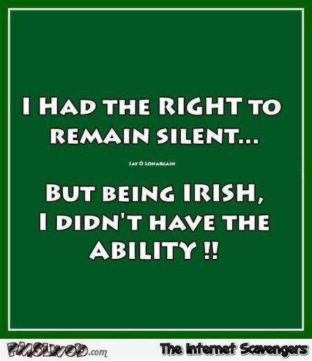 Irish humor - Happy St Paddy funnies | PMSLweb