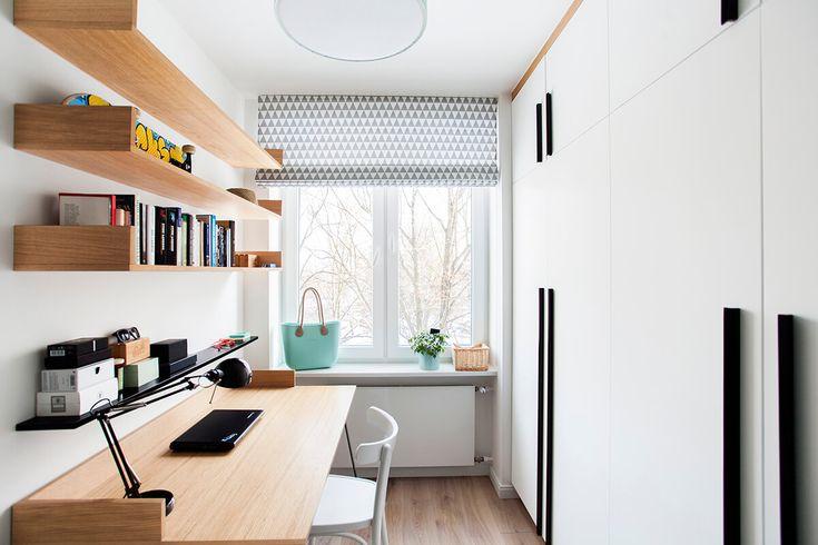 Mieszkanie na Bielanach, 36m2 - BOHO Studio