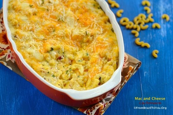 Mac and Cheese Carbonara | Recipes - Quest for the BEST Macaroni and ...