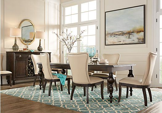Westerleigh Oak 5 Pc Dining Room In 2018 | New Home | Pinterest | Dining  Room, Dining And Dining Room Sets