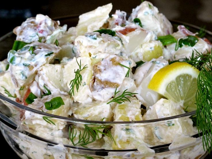 Tzatziki Potato Salad Recipe — Dishmaps