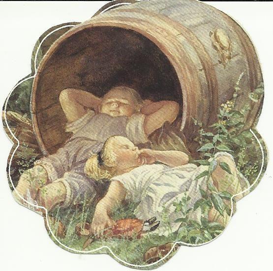 slapen in de ton