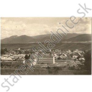 Stará pohľadnica Rajec