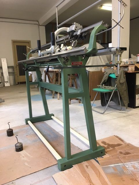 Second-hand used N.1 DUBIED FS-NHF4 12G. REF. 16153  hand knitting machine with photos.