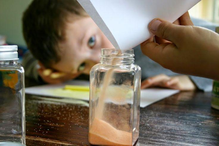Ötletes Blog: Sóból színes homok ismét