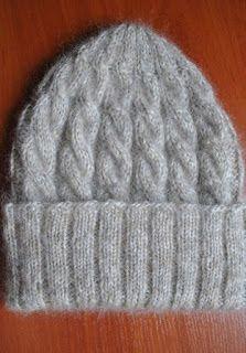 Tina's handicraft : knitting cable hat