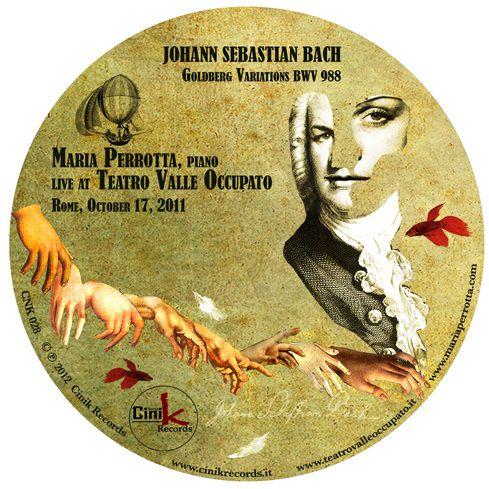 Music Graphic - Maria Perrotta Live at Teatro Valle Occupato by Cinik Records