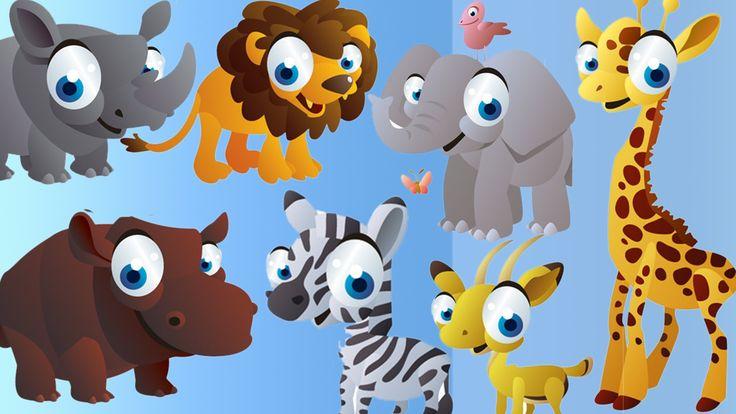 cartoon animals Finger Family Nursery english 3d  rhymes |  Children Ani...