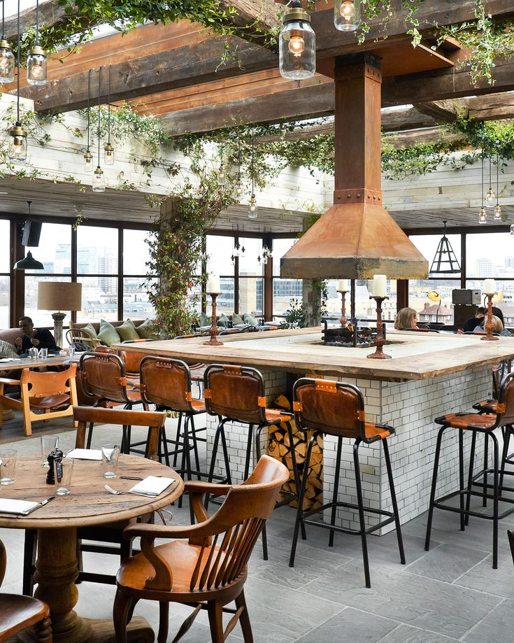 Shoreditch House - Spend some time on the rooftop overlooking London's skyscraper-studded skyline.