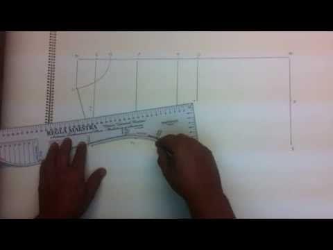 Como aumentar y disminuir tallas en patrones. Clase costura 14 - YouTube