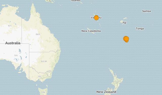 Тайны Планеты: Острова Фиджи. Глубинное землетрясение магнитудой ...