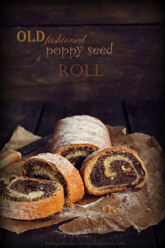 Old Fashioned Poppy Seed Roll #recipe